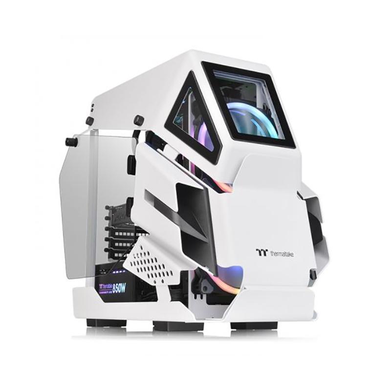 Thermaltake AH T200 TG mATX Case - Snow