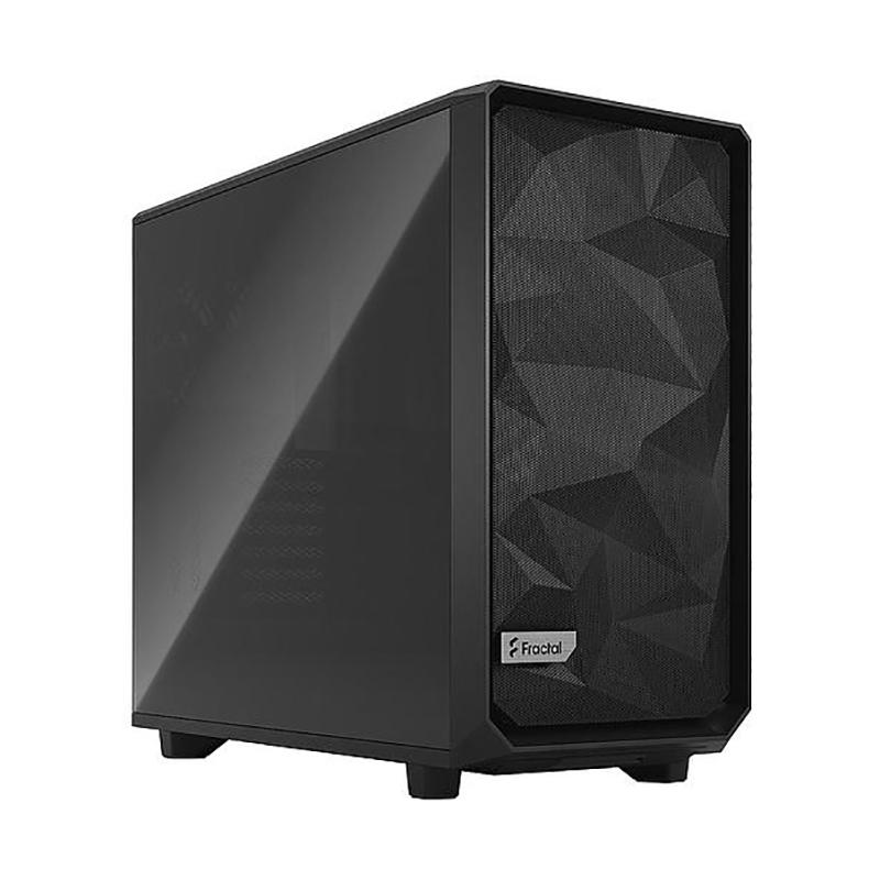 Fractal Design Meshify 2 Dark Tint TG Mid Tower E-ATX Case - Black