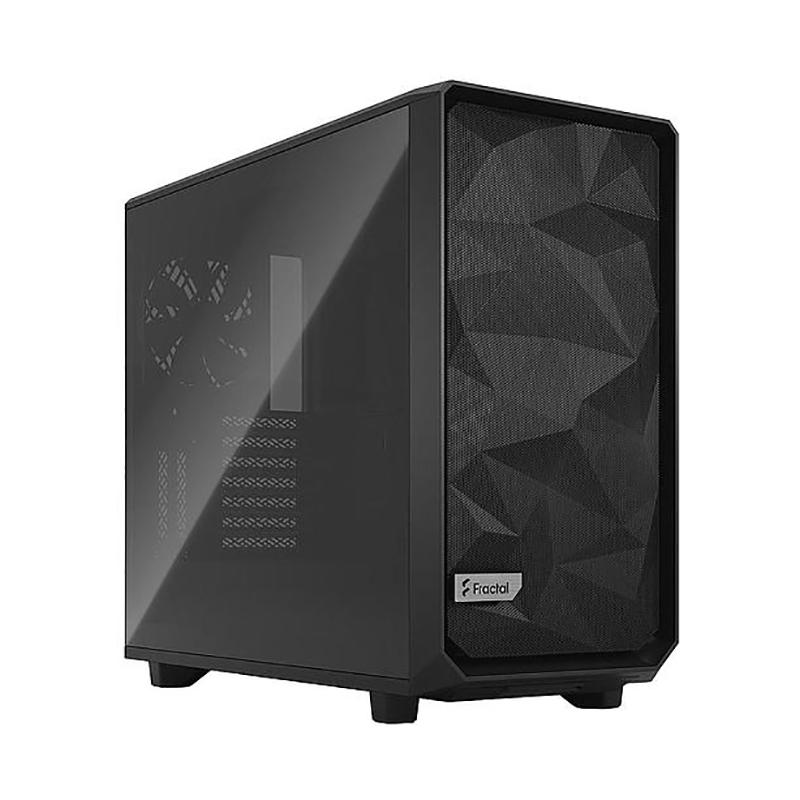 Fractal Design Meshify 2 Light Tint TG Mid Tower E-ATX Case - Black