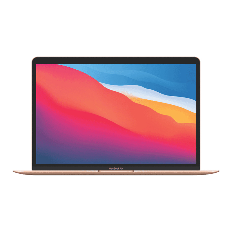 Apple 13in MacBook Air - Apple M1 256GB - Gold (MGND3X/A)