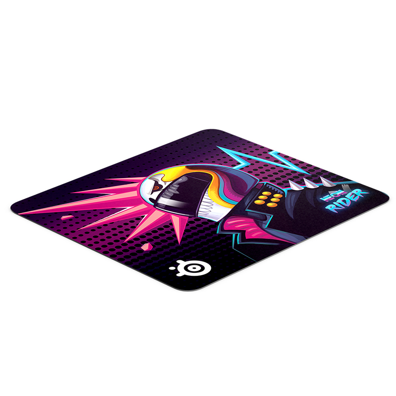 SteelSeries QcK Neon Rider Large Mousepad
