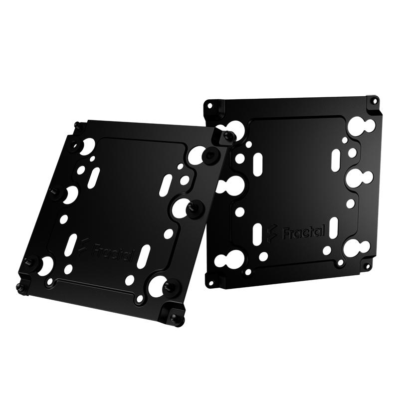 Fractal Design Type A Universal Multibracket Black - 2 Pack