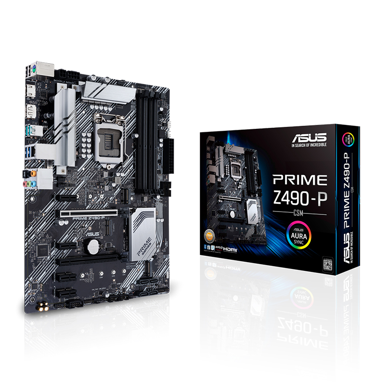 Asus Prime Z490-P/CSM LGA 1200 ATX Motherboard