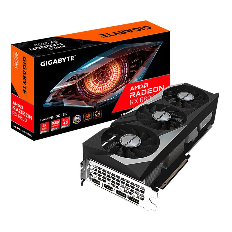 Gigabyte Radeon RX 6800 Gaming OC 16GB Graphics Card
