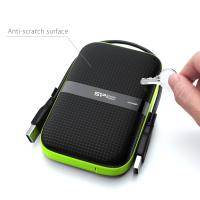 Silicon Power 2TB A60 Shockproof & IPX4 Water-resistant Portable External HDD USB 3.0 For PC,MAC,XBOX,PS4