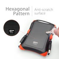 Silicon Power Rugged 2TB A30 Shockproof Portable External HDD USB 3.0 For PC,MAC,XBOX,PS4