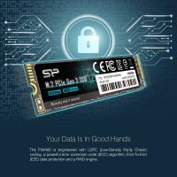 Silicon Power 256GB P34A60 M.2 NVMe SSD PCIe Gen3x4 TLC R/W up to 2,100/1,200 MB/s