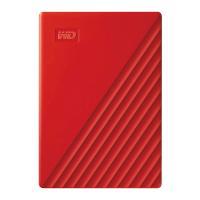 Western Digital 4TB My Passport USB 3.2 External HDD - Red