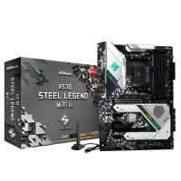Asrock X570 Steel Legend WiFi AX AM4 ATX Motherboard