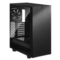 Fractal Design Define 7 Compact Light TG Mid Tower ATX Case - Black