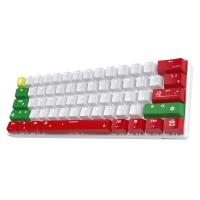 RK ROYAL KLUDGE RK61 Wireless 60% Mechanical Gaming Keyboard, Red Switch, Christmas Version