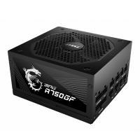 MSI 750W MPG A750GF 80+ Gold Power Supply (MPG A750GF)