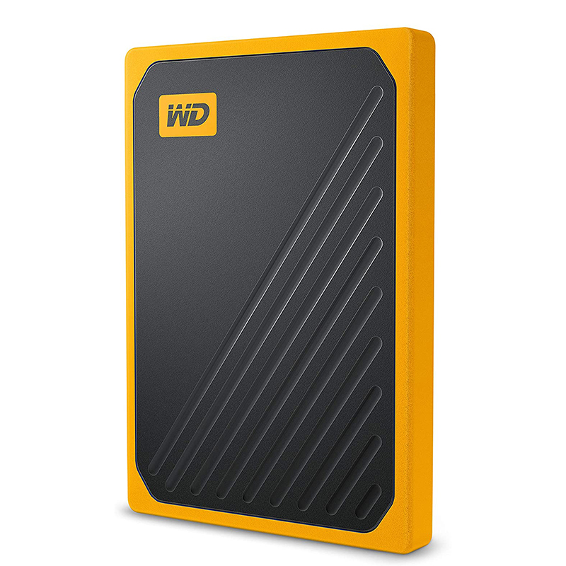WD 1TB My Passport GO USB 3.0 Portable SSD - Amber