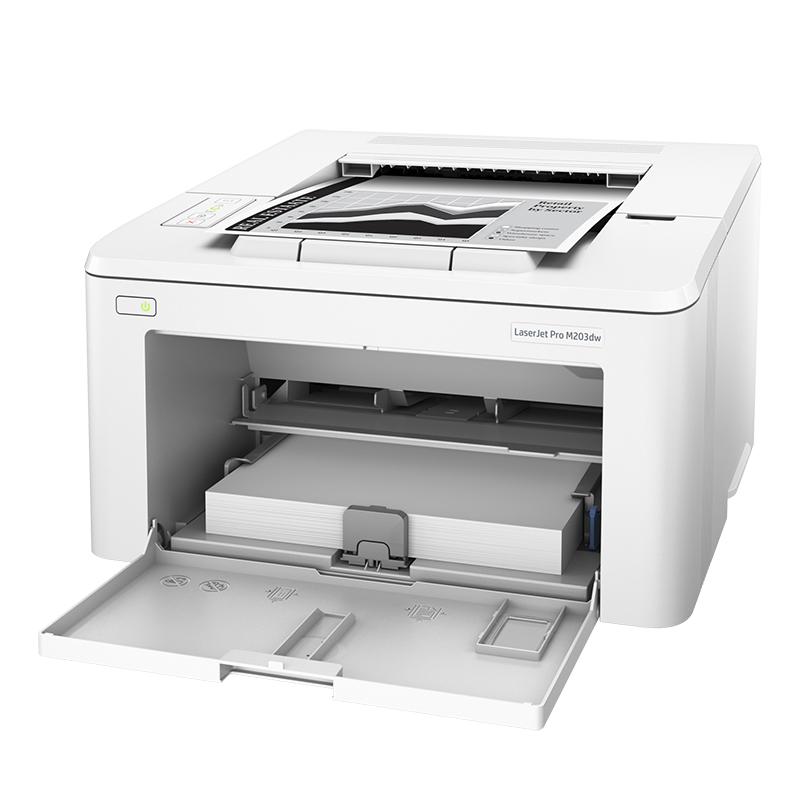 HP LaserJet Pro M203dw Wireless Mono Laser Printer (G3Q47A)