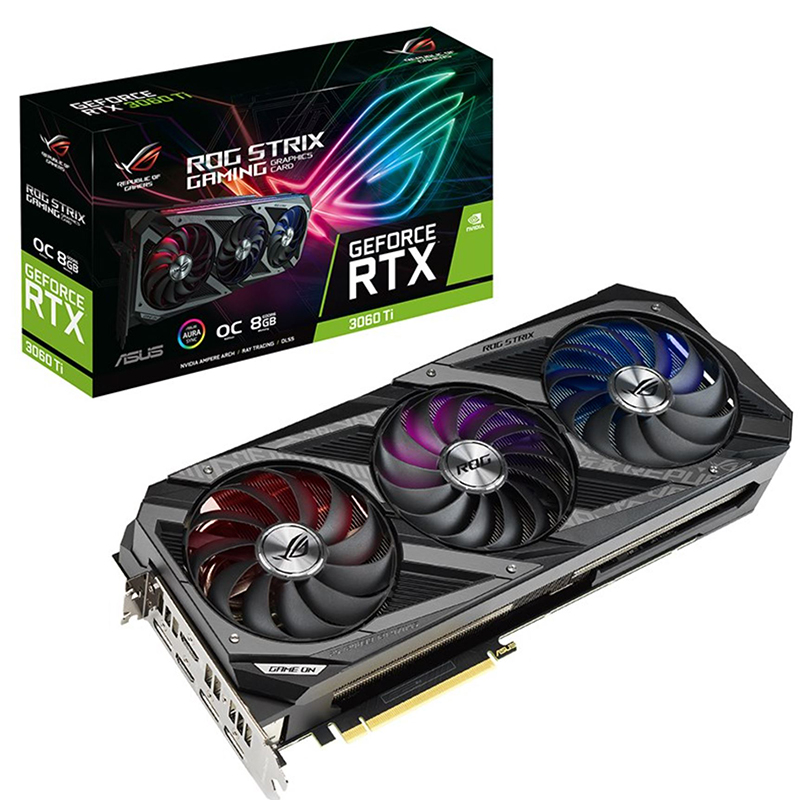 Asus ROG Strix GeForce RTX 3060 Ti Gaming OC 8G Graphics Card