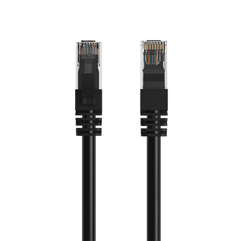 Cruxtec Cat 6 Ethernet Cable - 50cm Black
