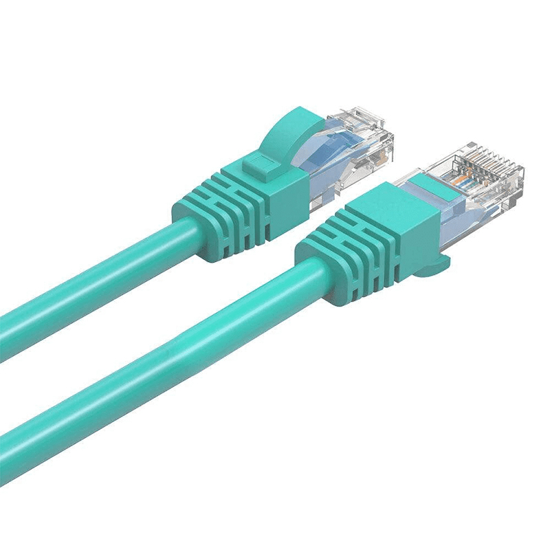 Cruxtec Cat 6 Ethernet Cable - 1m Green