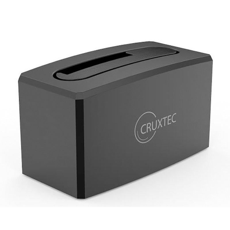 Cruxtec USB 3.0 to SATA 3.5in and 2.5in Hard Drive Docking Station - Black
