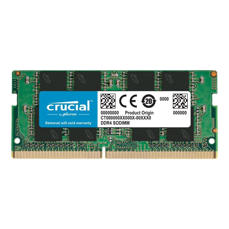 Crucial 32GB (1x32GB) CT32G4SFD8266 2666MHz DDR4 SODIMM RAM