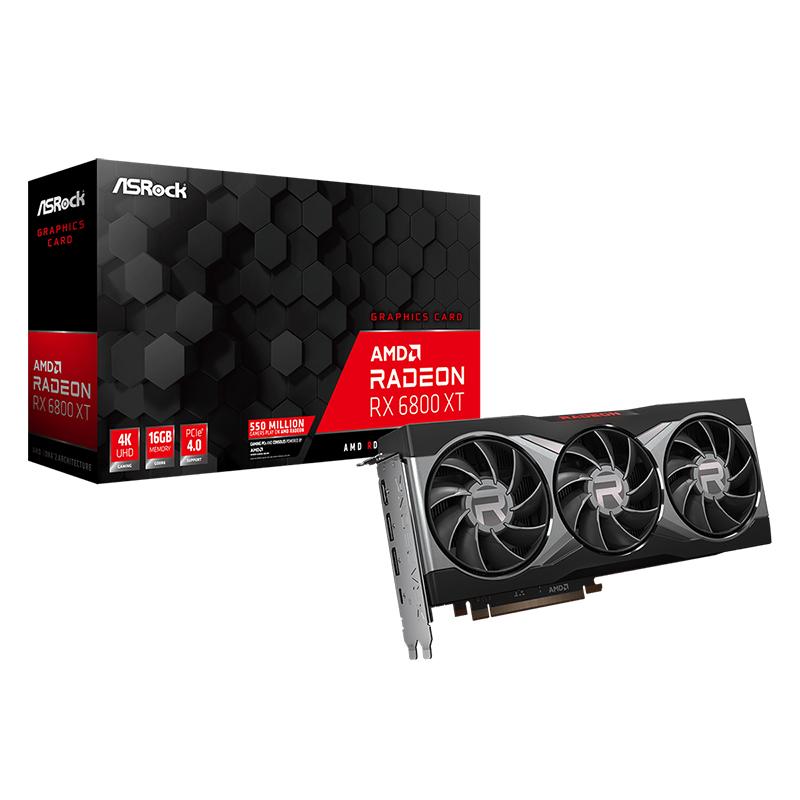Asrock Radeon RX 6800 XT 16G Graphics Card