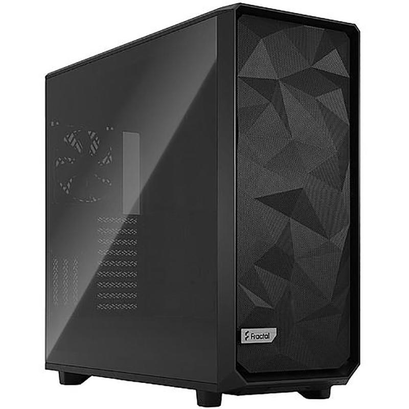Fractal Design Meshify 2 XL Light Tint TG Full Tower E-ATX Case - Black