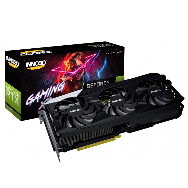 Inno3D GeForce RTX 3090 Gaming X3 24G Graphics Card