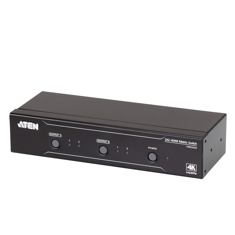 Aten 2x2 4K HDMI Matrix Switch