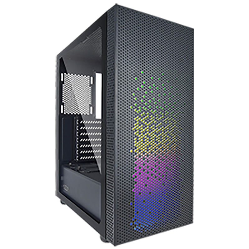 AZZA Celesta 340F ARGB Tempered Glass Mid Tower ATX Case