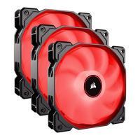 Corsair Air Series 120mm AF120 LED Fan Red - 3 Pack