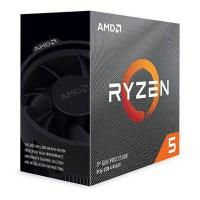 ZDEL - AMD Ryzen 5 3600 6 Core AM4 3.6GHz CPU Processor with Wraith Stealth Cooler