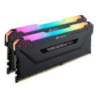 Corsair 64GB (2x32GB) CMW64GX4M2E3200C16 Vengeance RGB PRO 3200MHz DDR4 RAM - Black