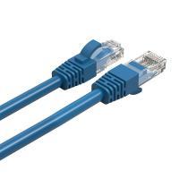 Cruxtec Cat 6 Ethernet Cable - 30cm Blue