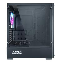 AZZA Apollo 430 ARGB Tempered Glass ATX Case - Black