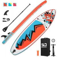 """Swonder Inflatable Stand Up Paddle Board, 32"""" Wide Ultra Steady and Super Light-Weigh (17.2lbs) Board"""