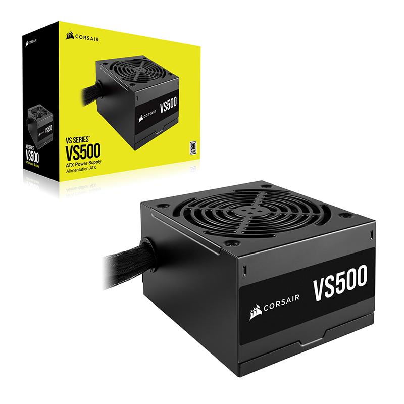 Corsair 500W VS Series 80+ Power Supply (CP-9020223-AU)
