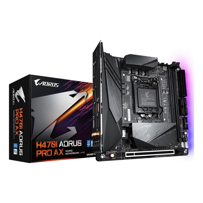 Gigabyte H470I Aorus Pro AX LGA 1200 ITX Motherboard