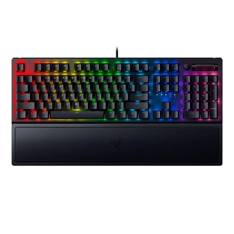 Razer BlackWidow V3 Mechanical Gaming Keyboard - Yellow Switch