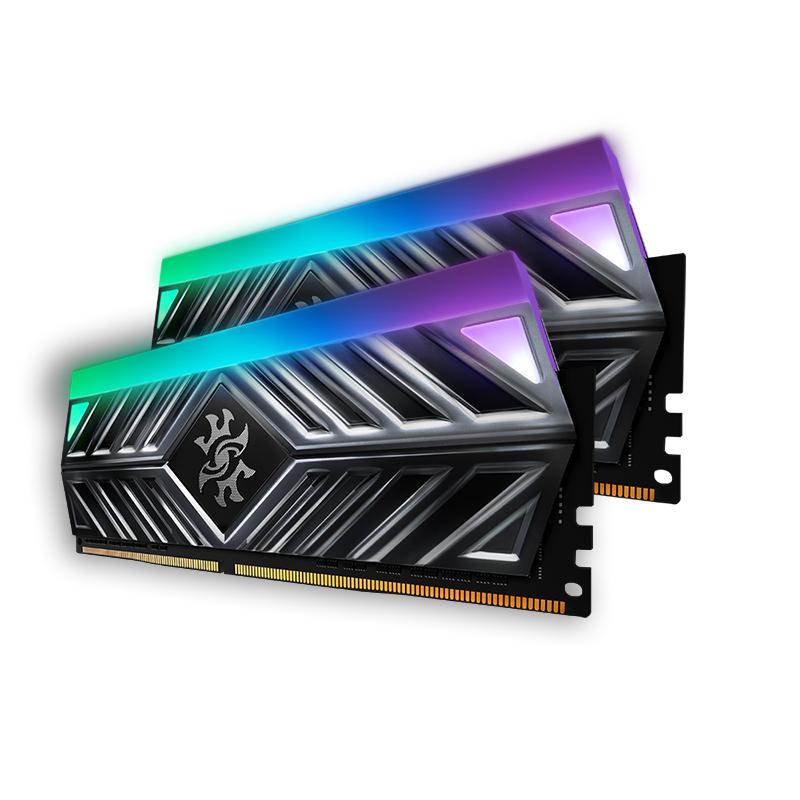 ADATA 16GB (2x8GB) AX4U320088G16A-DT41 XPG Spectrix D41 RGB 3200MHz DDR4 RAM