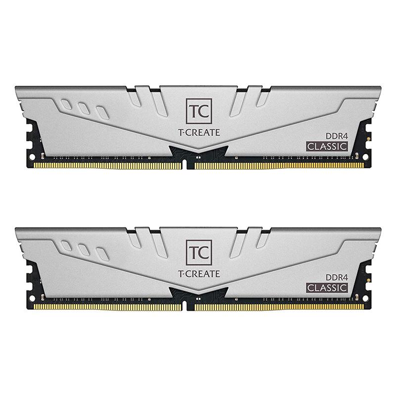 Team 16GB (2x8GB) TTCCD416G2666HC19DC01 T-Create Classic Series 2666MHz DDR4 RAM