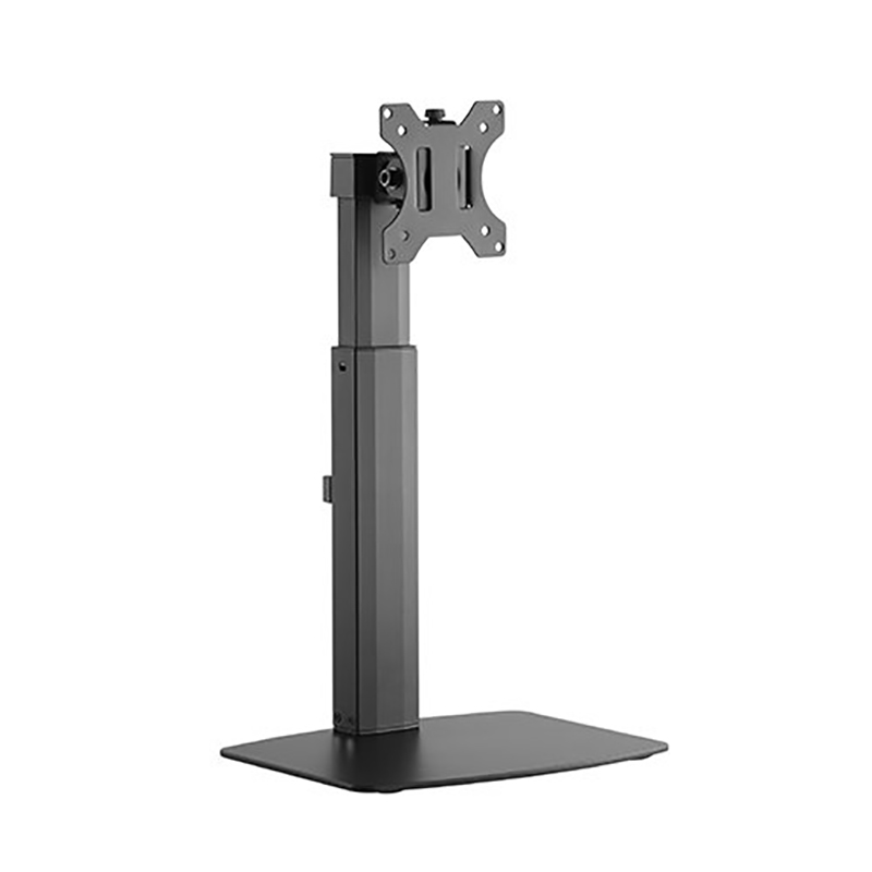 Brateck Single Screen Pneumatic Vertical Lift Monitor Stand