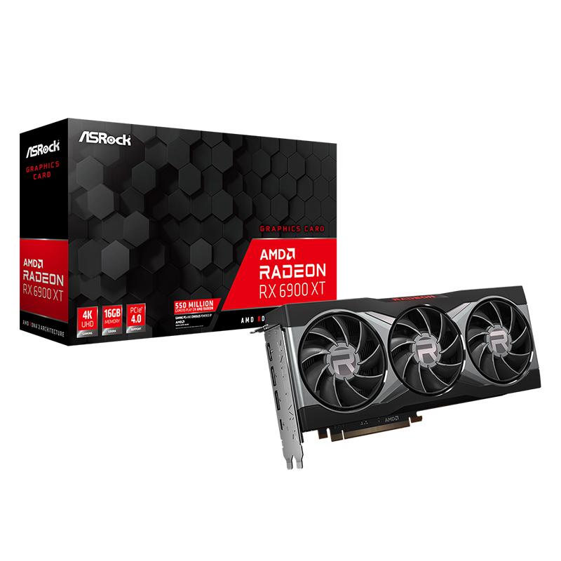 Asrock Radeon RX 6900 XT 16G Graphics Card
