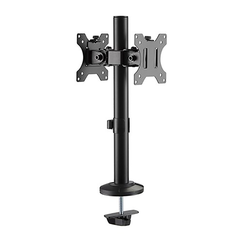 Brateck 17-32 inch Articulating Pole Dual Monitor Mount