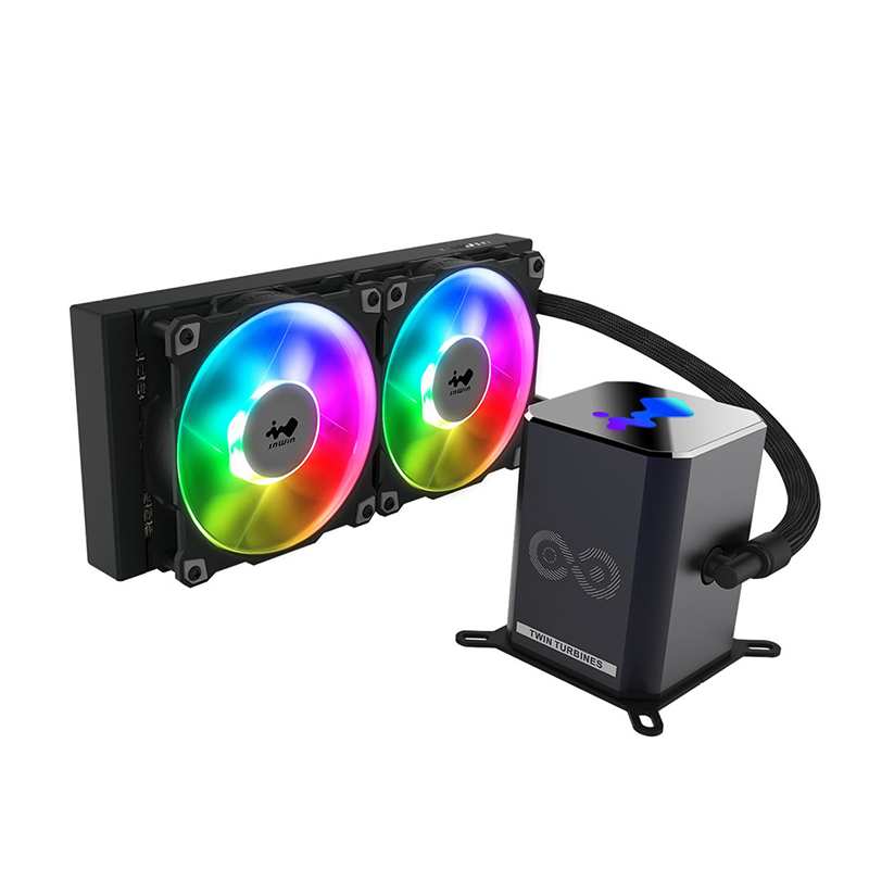 Inwin SR24 PRO 240mm ARGB AIO Liquid CPU Cooler