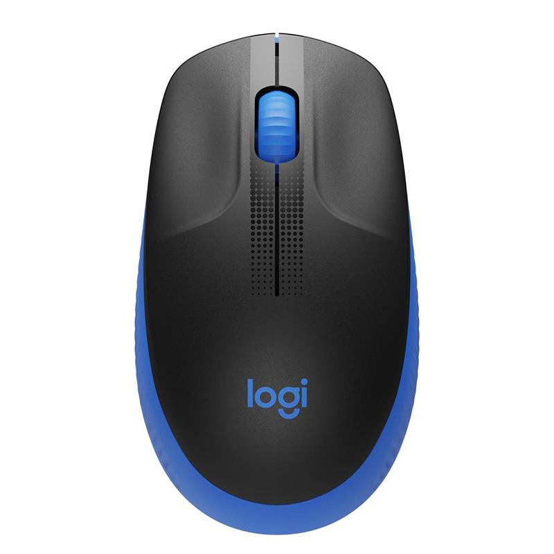 Logitech M190 Wireless Mouse - Blue