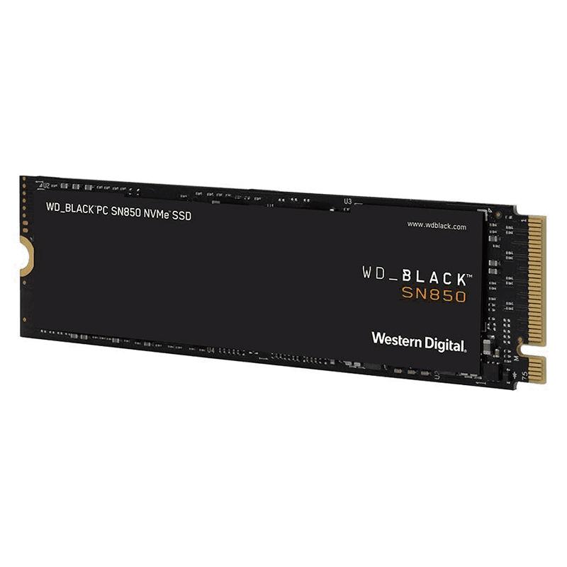 Western Digital 500GB Black SN850 Gen4 M.2 NVMe PCIe SSD