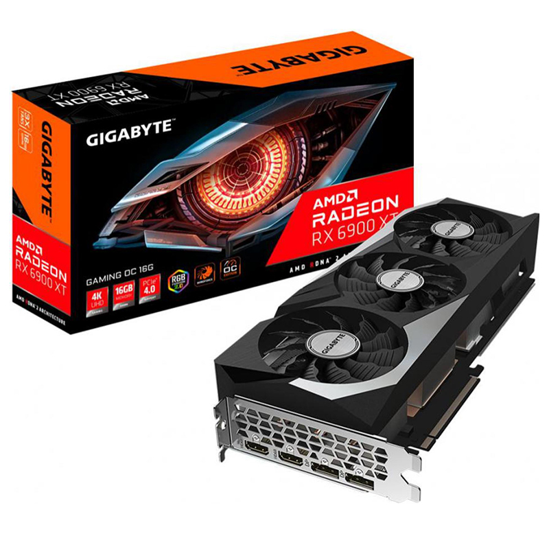 Gigabyte Radeon RX 6900 XT Gaming 16G OC Graphics Card