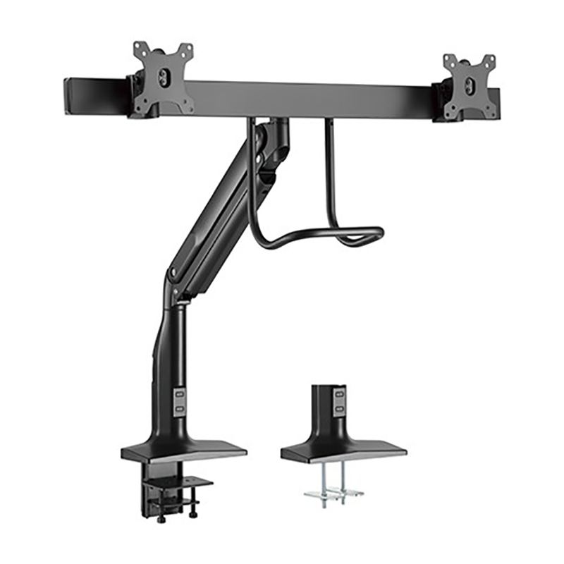 Brateck 17-35 inch Dual Monitor Select Gas Spring Monitor Arm Fit