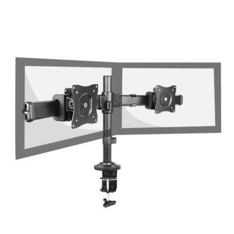Brateck Dual Monitor Arm with Desk Clamp