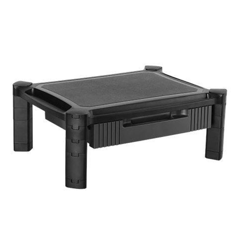 Brateck Height Adjustable Monitor Stand with Drawer