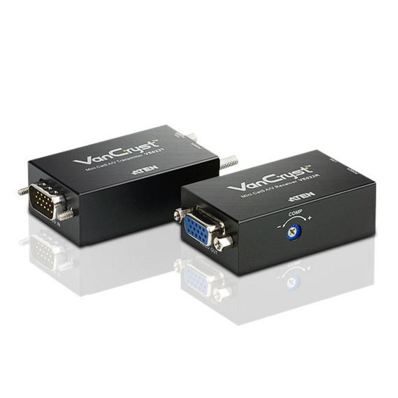 Aten Mini Cat5 VGA/Audio Extender